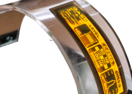Bendable OLED Wisechip Display