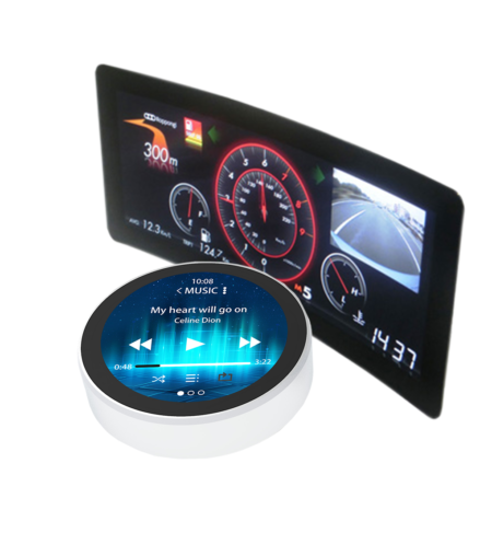 Special Shape TFT Display