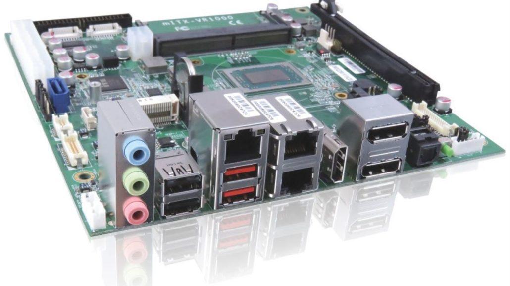 4K Quadruple Display Support Kontron_mITX-VR1000