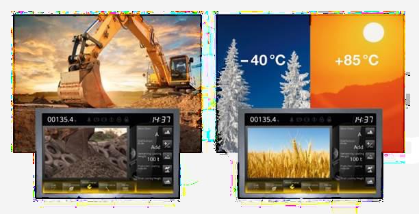 Wide Temperature Displays
