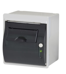 Seiko panel mount printer
