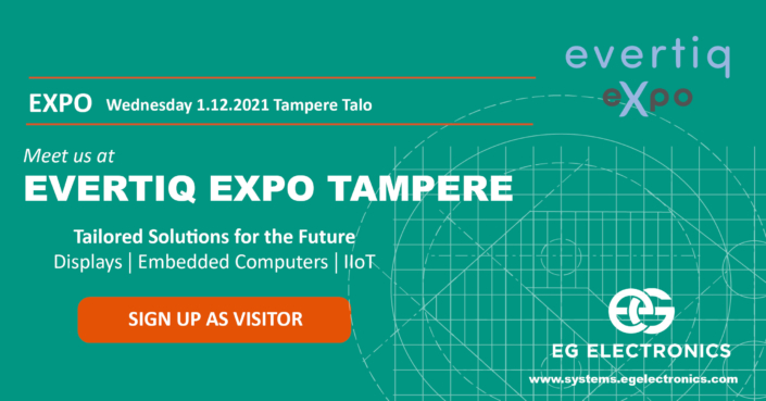 Evertiq Expo Tampere displays and systems